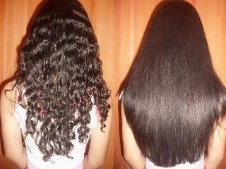 Как проихсодит кератиновое выпрямление волос дома и в салоне