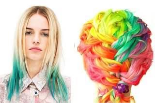 Мелки и пастель для покраски волос