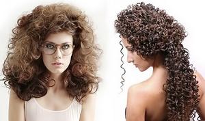 Химическая завивка волос — разновидности и техника выполнения ...