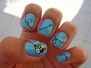 Рисунки на ногтях — вырази своё настроение!