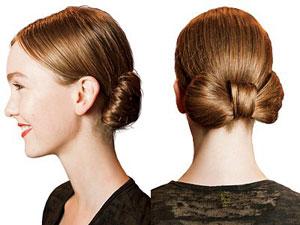 Как уложить длинные волосы в бант