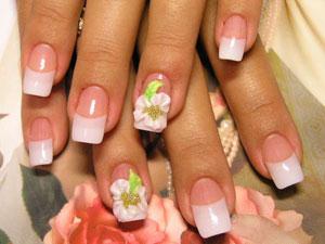 Как накладывать акрил на ногти