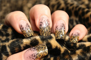 Хищный леопардовый френч