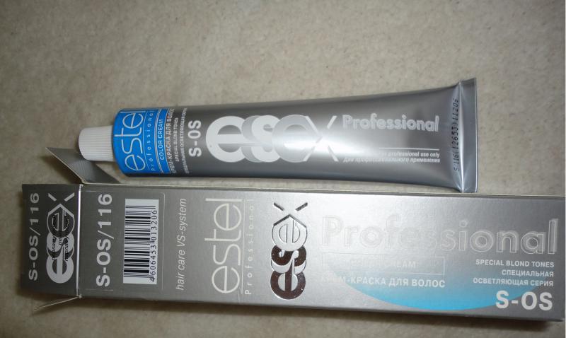 Краска для волос Эстель — я довольна!