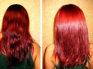 Как я делала ламинирование волос