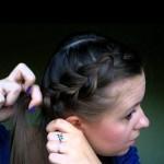 причёска с хвостиком