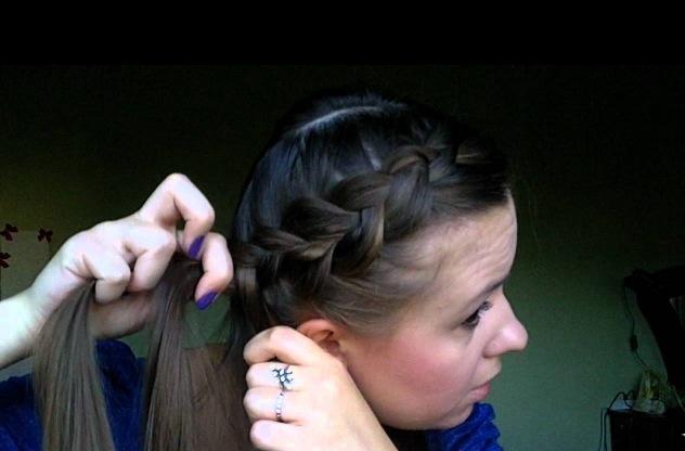 Делаем причёску с косами — видео инструкции