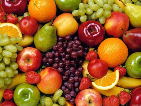 Овощи и фрукты для здоровья волос