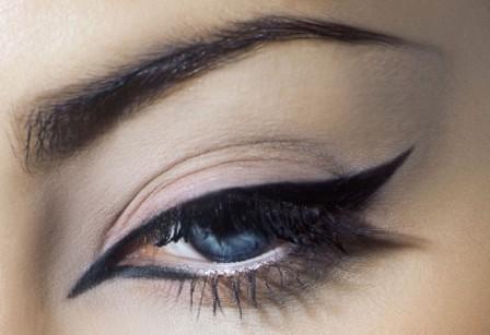 Чем нарисовать стрелки на глазах