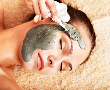 Маска для чистки кожи лица
