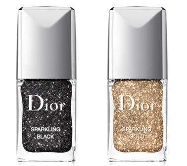 Новая коллекция лаков от компании Dior