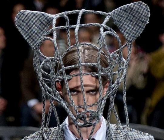 Самые оригинальные причёски на Неделе мужской моды в Париже
