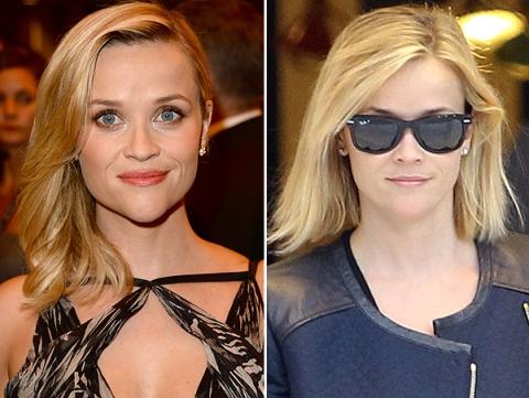 до и после смены имиджа