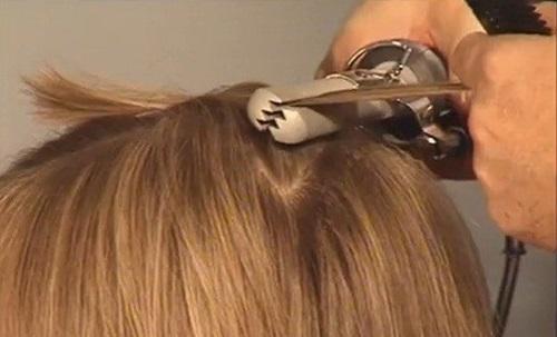 Прибор для объема волос