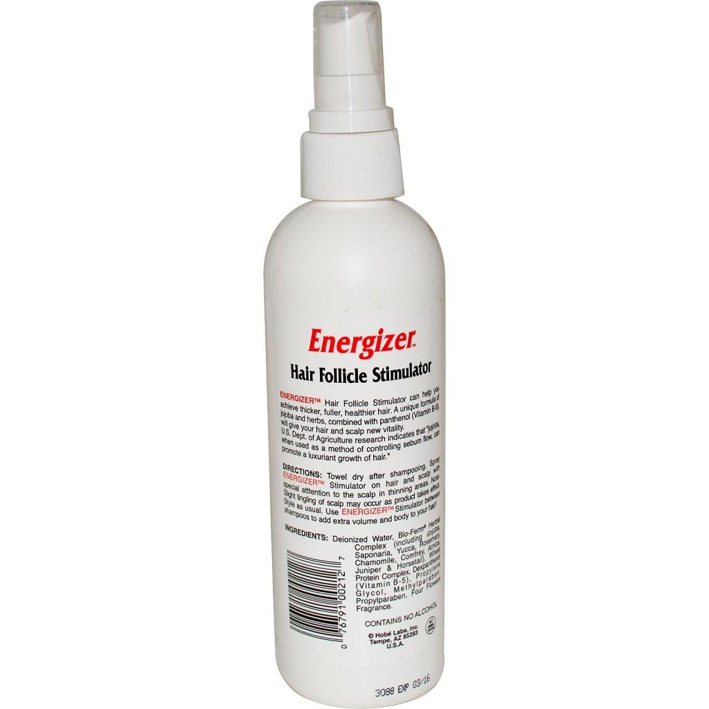 Ускоренный рост волос с Energizer