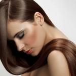 блестящие волосы после использования жидких кристаллов