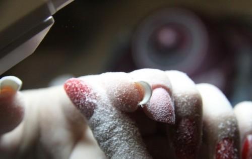 снятие гелевых ногтей