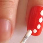 ожерелье рисунок на ногтях