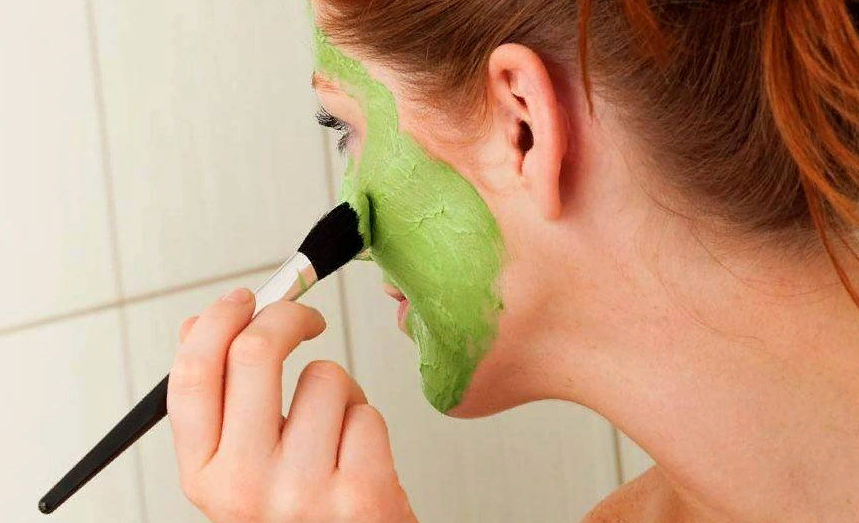 Отбеливающая маска дли лица из петрушки фото