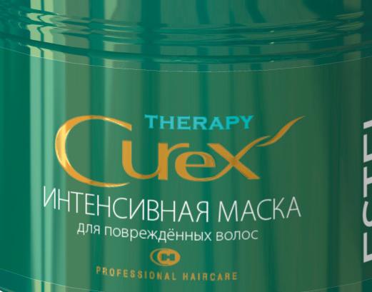 маска curex therapy для поврежденных волос фото
