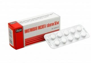таблетки никотиновой кислоты