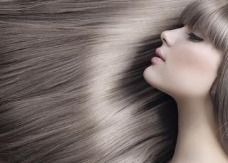 как выглядят волосы после выпрямления