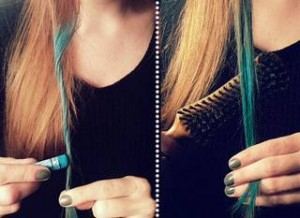 окраска волос пастелью