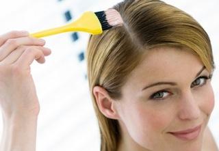 как красить волосы тоником фото