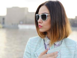 Окрашивание с эфектом отросших волос