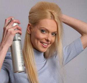 Объемная прическа на средних волосах