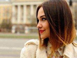 Окрашивание светлых волос в два тона