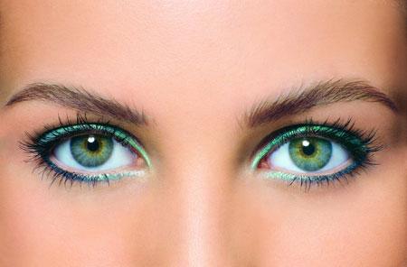 ошибки в макияже для зеленых глаз с фото