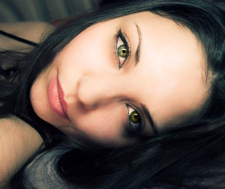 выразительный макияж с зелеными глазами фото