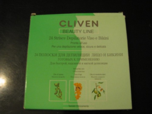 Восковые полоски Cliven