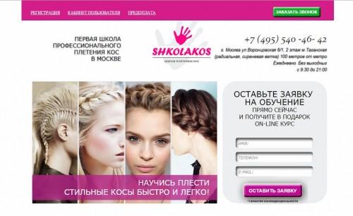 """Обучение по программе школы """"Shkolakos"""""""
