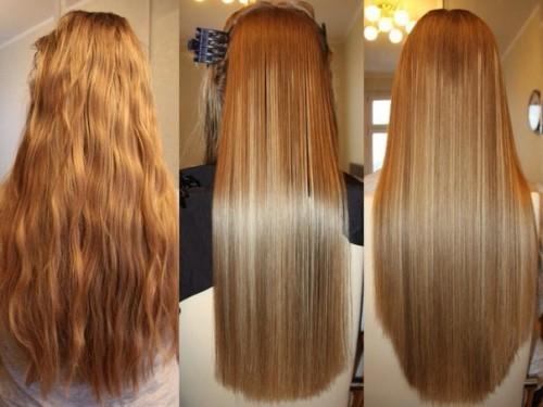 вот такие вот волосы получаются после процедуры