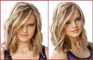 Красивые прически для средних волос