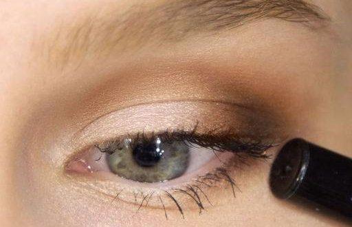 Макиж глаз Рельефная техника