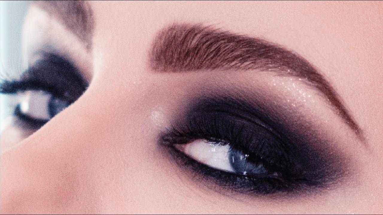 Макияж глаз Смоки-айс (smokey eyes).