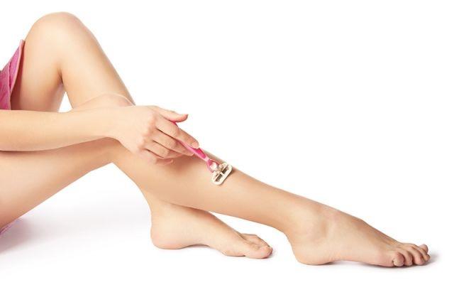 брить ноги