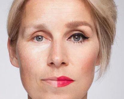 возрастной макияж-разница