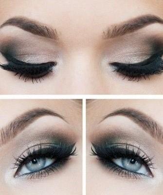 макияж для светлых глаз1
