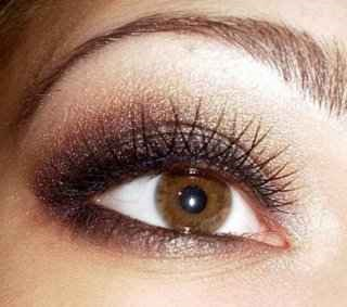 мейкап для светло-карих глаз