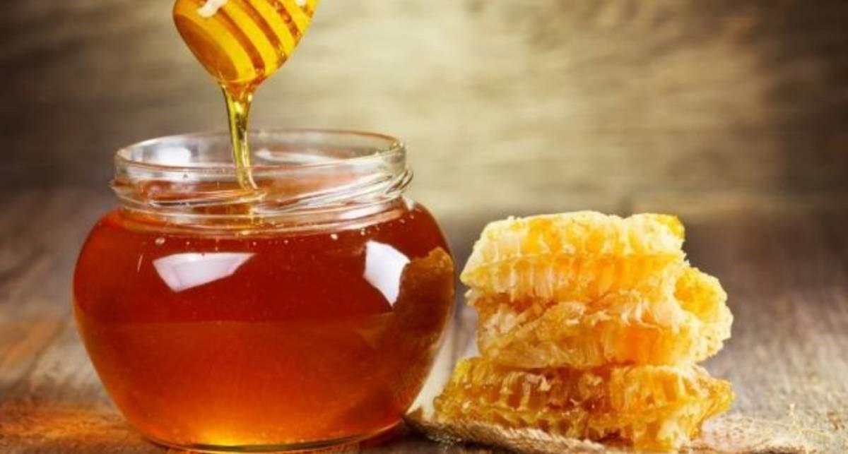 мед маска для волос