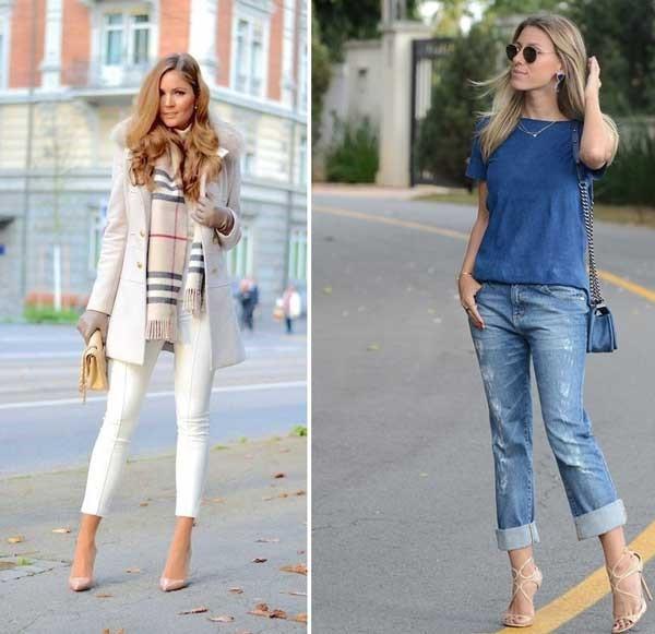 подвернуть джинсы