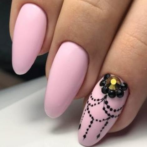 тенденции нежных ногтей