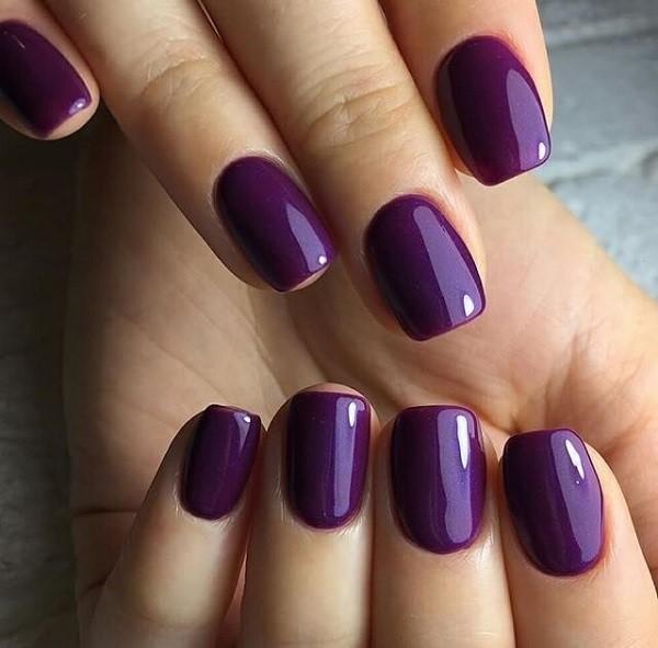 гель-лак на коротки ногти красиво