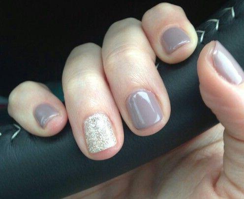 гель-лак на коротки ногти