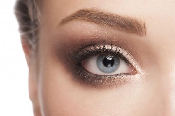 макияж глаз серые глаз