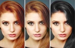 тонкости изменения цвета волос